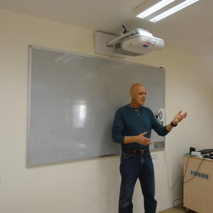 הרצאה של גדעון ארן